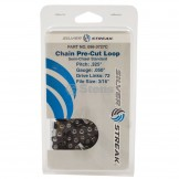 """Chain Loop Clamshell 72 Dl / .325"""", .050, S-chisel Standard"""