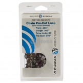 """Chain Loop Clamshell 81 Dl / .325"""", .063, S-chisel Standard"""