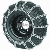 2 Link Tire Chain / 24x13.00-12 / 26x12.00-12