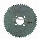 "Steel Plate Sprocket / 54 Teeth, 2"" Bore"