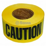 Barricade Caution Tape / 2 Mil. Black / Yellow
