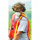 Safety Vest / Vertical Stripe F / B