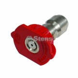 Quick Coupler Nozzle / 0 Degree, Size 4.5, Red