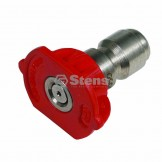 Quick Coupler Nozzle / 0 Degree, Size 5.0, Red