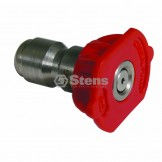 Quick Coupler Nozzle / 0 Degree, Size 5.5, Red