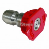 Quick Coupler Nozzle / 0 Degree, Size 3.0, Red
