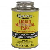 Star brite Liquid Electrical Tape / Black color, 4 oz. can