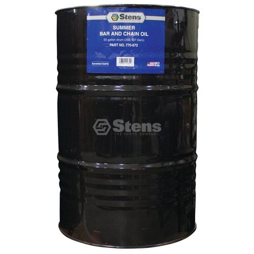 Summer bar and chain oil 55 gallon drum for 55 gallon drum motor oil